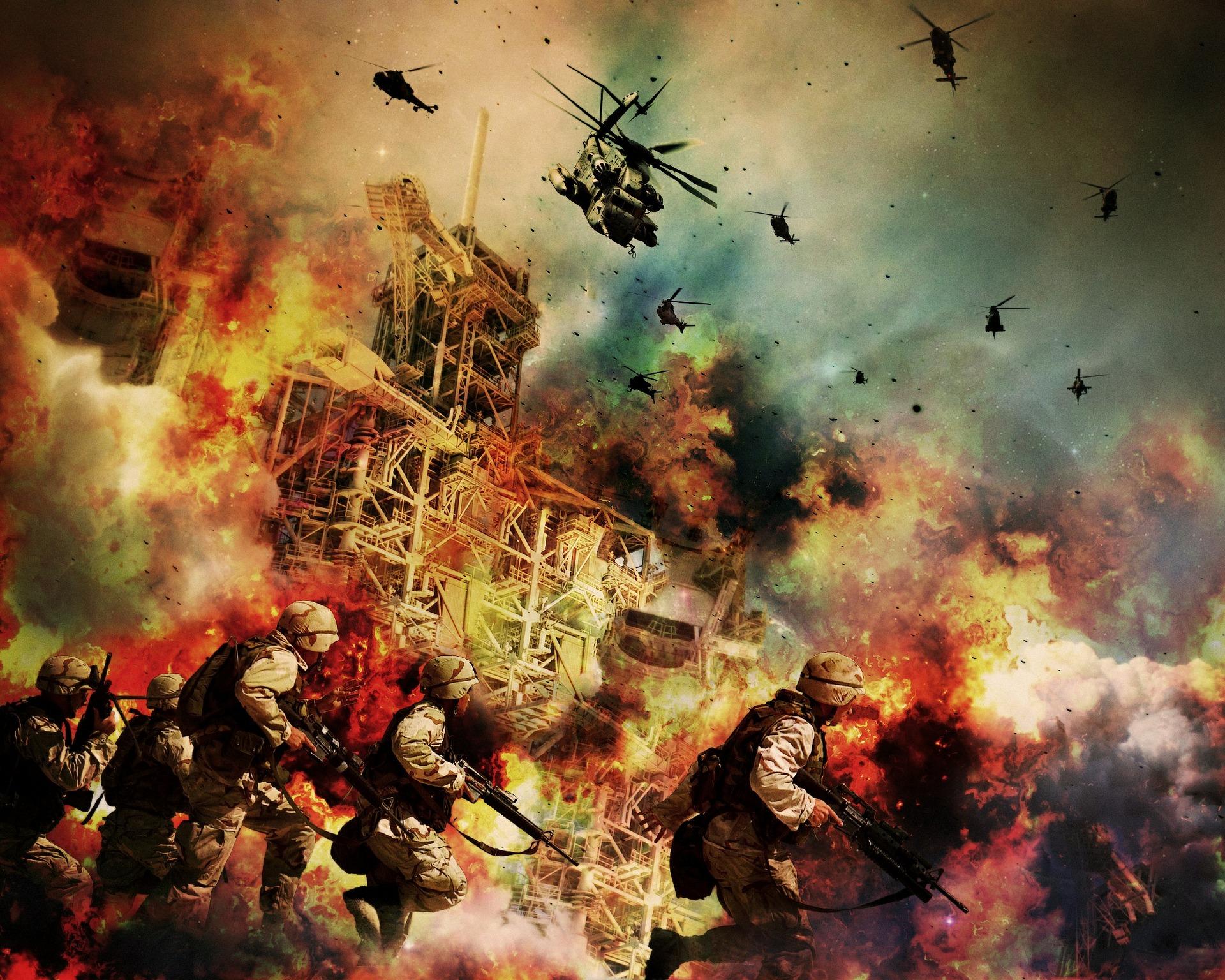 戦争のイメージ